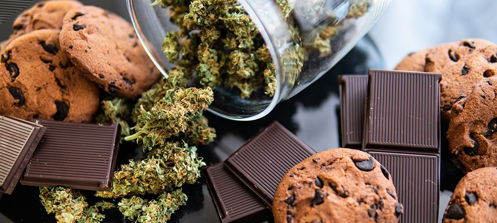 consuming marijuana