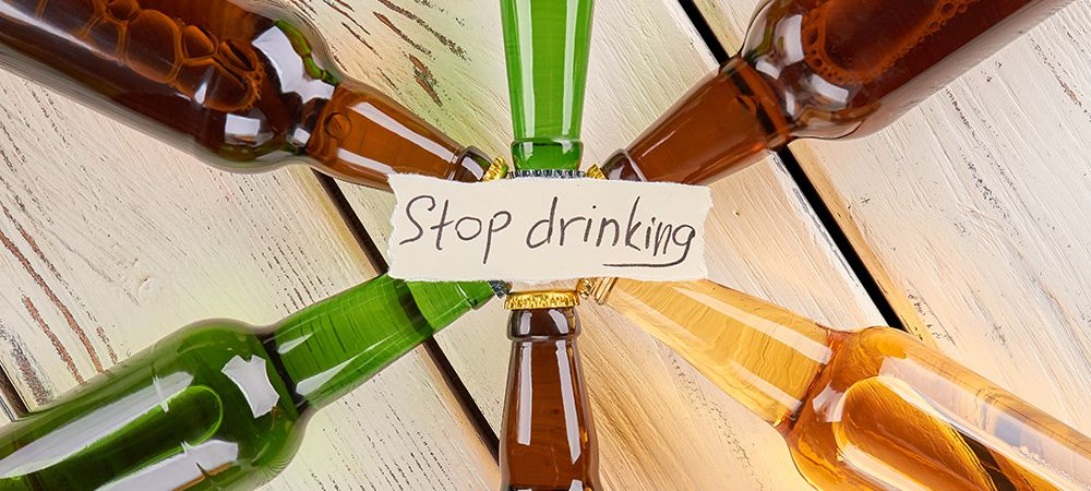 stop using alcohol